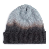 GREY DIP DYE BEANIE - Accessories - View All  - New In