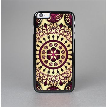 The Mirrored Gold & Purple Elegance Skin-Sert for the Apple iPhone 6 Skin-Sert Case