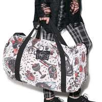 Switchblade Party Til I Die Duffle Bag Multi One
