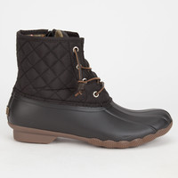 SPERRY Saltwater Quilted Womens Duck Boots   Boots & Booties