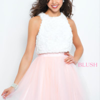 Blush 11364 Two-Piece A Line Dress