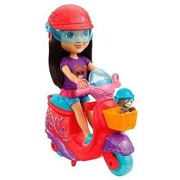 Fisher-Price Nickelodeon Dora and Friends Dora & Perrito's Scooter Adventure