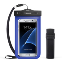 Universal Waterproof Case, MoKo Cellphone Dry Bag with Armband Neck Strap for iP