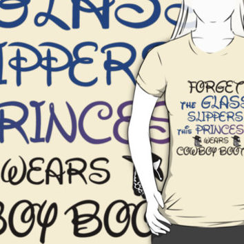 THIS PRINCESS WEARS COWBOY BOOTS by Divertions