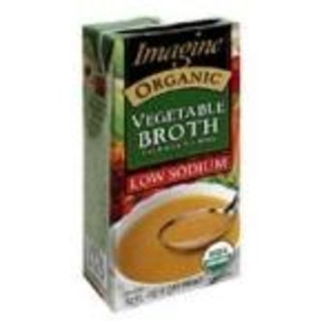 Imagine Foods Low Sodium vegetable Broth (12x32 Oz)