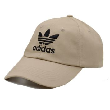 Adidas Embroidered 100% Cotton Adjustable Cap