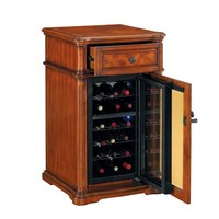 Avalon Tresanti Wine Cabinet w/ Built-in Wine Refrigerator—Buy Now!