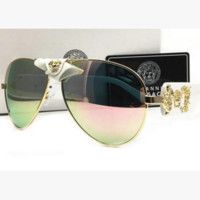 Versace sunglasses metal sunglasses