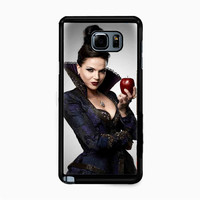 ONCE UPON A TIME-THE EVIL QUEEN HOLDING APPLE for Samsung Galaxy Note 5 Case *NP*