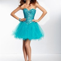 Sticks and Stones 9259 - Short Prom Dress - Formal Dress - Homecoming Dress - 9259