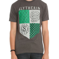 Harry Potter Slytherin Locket Banner Slim-Fit T-Shirt