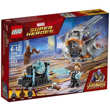 LEGO 76102 Marvel Super Heroes Thor's Weapon Quest