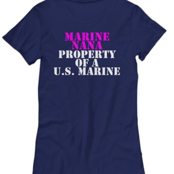 Military - Marine Nana - Property of a U.S. Marine