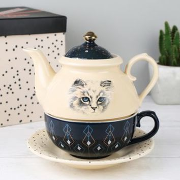 'Meow' Tea For One