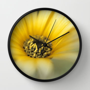 Flower #1 Wall Clock by Bruce Stanfield