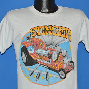 80s Stinger Tire Warehouse Drag Racing t-shirt Small