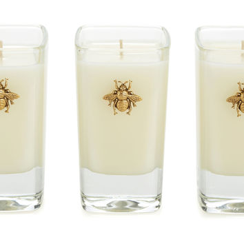 3 oz Votives, French Lavender, Set of 3, Tea Lights & Votives