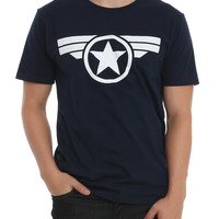 Marvel Captain America: The Winter Soldier Logo T-Shirt
