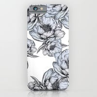 floating flowers iPhone & iPod Case by Mgracepfender