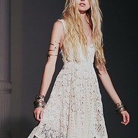 Free People Womens Mavi Lace Dress