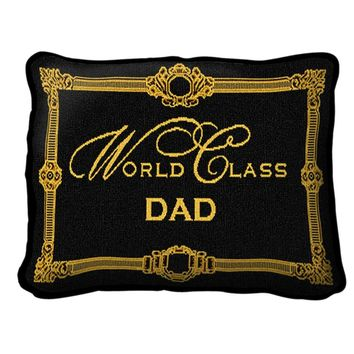 Pure Country Weavers World Class Dad Decorative Pillow