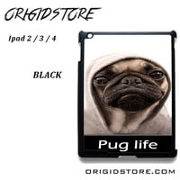New Design Funny Hilarious Pug Life Parody Fans For Ipad 2 Ipad 3 Ipad 4 Case Please Make Sure Your Device With Message Case UY