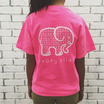 Elephant Printed T-Shirt
