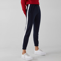Sweatpants with side stripe - Pants - Bershka United States