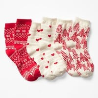 Gap Girls Winter Socks 3 Pack