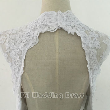 Real Photos Sexy Backless Lace Wedding Dress V-neck Open Back Bridal Gown