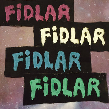 Super Cool FIDLAR Patch hand-painted