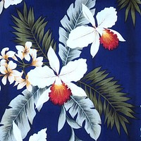 majestic blue hawaiian fabric