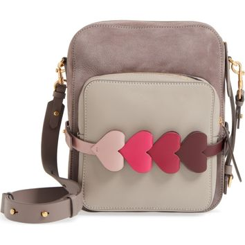 Anya Hindmarch Heart Link Leather Camera Bag | Nordstrom