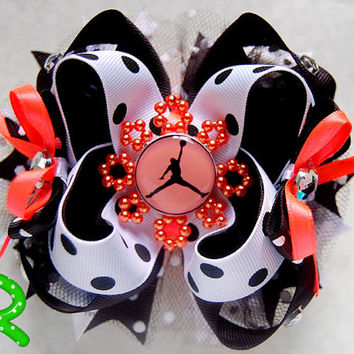 Jordan Hair Bow ,  Boutique Bow , layered bow , Stacked Hair Bow ,Jordan Ott Bow