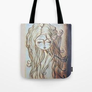 Dreamer girl Tote Bag by MY DOLLINGS
