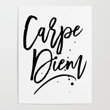 Carpe Diem Poster by allisone