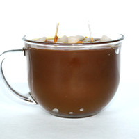 Hot Cocoa Scented Gourmet Jar Candle