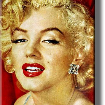 Marilyn Monroe Picture on Acrylic , Wall Art Décor, Ready to Hang!