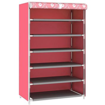 Dust proof Multi layer Shelf Mounted Shoes Storage Rack