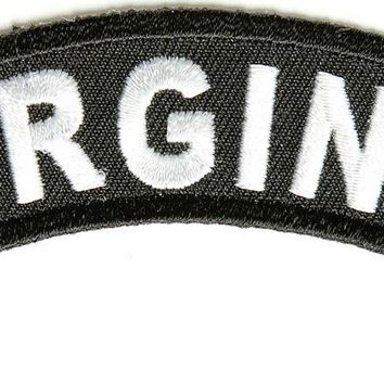 Virginia Rocker Patch Small Embroidered Motorcycle NEW Biker Vest Patch