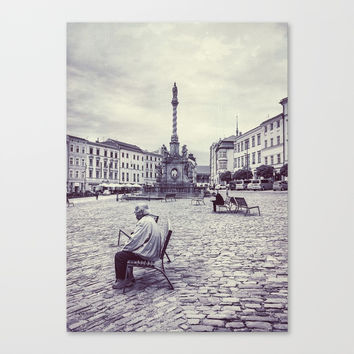 Olomouc city photo #Olomouc #photo #city Canvas Print by jbjart