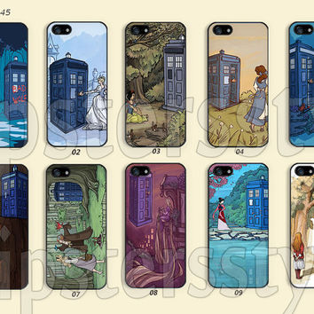Phone Cases, iPhone 5/5S Case, iPhone 4/4S Case,  iPhone 5C Case, doctor who Disney princess Galaxy S3 S4 S5 Note 2 Note 3-B0245