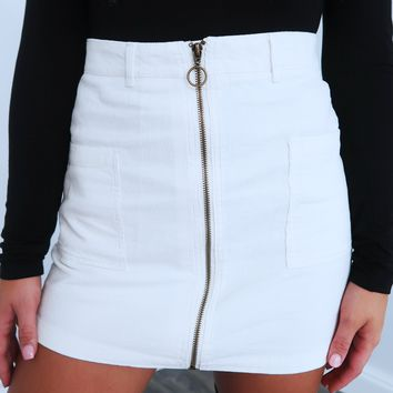 Always The One Skirt: White