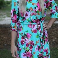 Always & Forever Dress: Sea Mist - Off the Racks Boutique