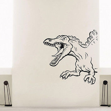 WALL DECAL VINYL STICKER ANCIENT PREDATOR ANIMAL DINOSAUR DECOR SB339