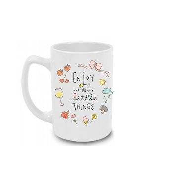 Enjoy the Little Things Coffee Mug