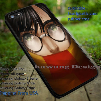 Harry Potter Drawing Painting Art iPhone 6s 6 6s+ 5c 5s Cases Samsung Galaxy s5 s6 Edge+ NOTE 5 4 3 #movie #HarryPotter dt