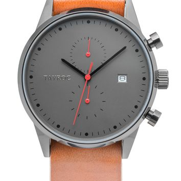 TXM086 - Brown Leather NATO