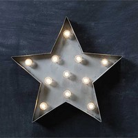 METAL STAR LED LAMP - Junk GYpSy co.