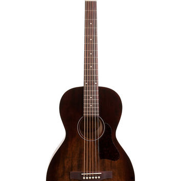 Art & Lutherie Roadhouse Parlor Acoustic Guitar in Bourbon Burst